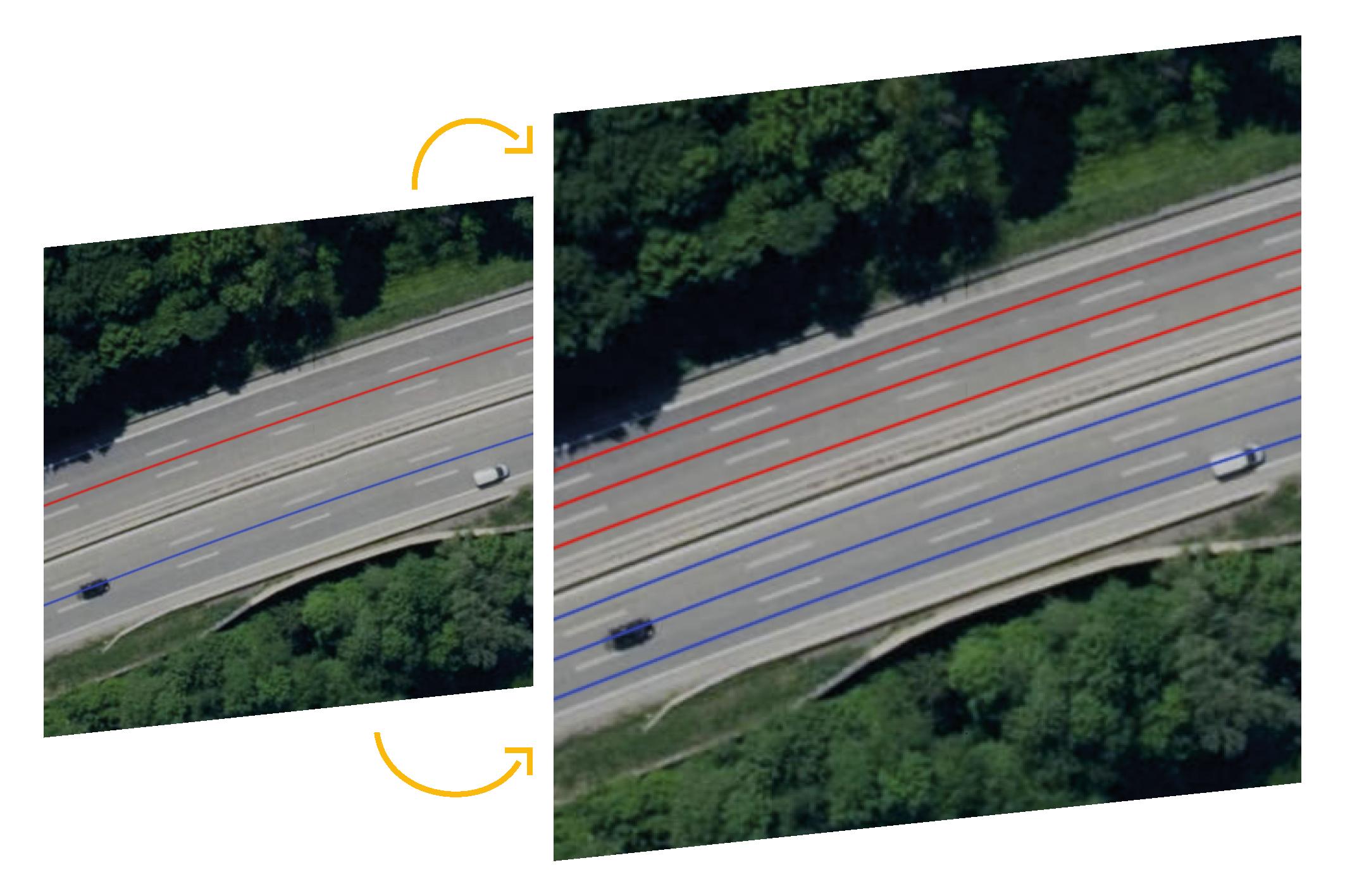 Lanes generiert spurgenaue Straßengraphen