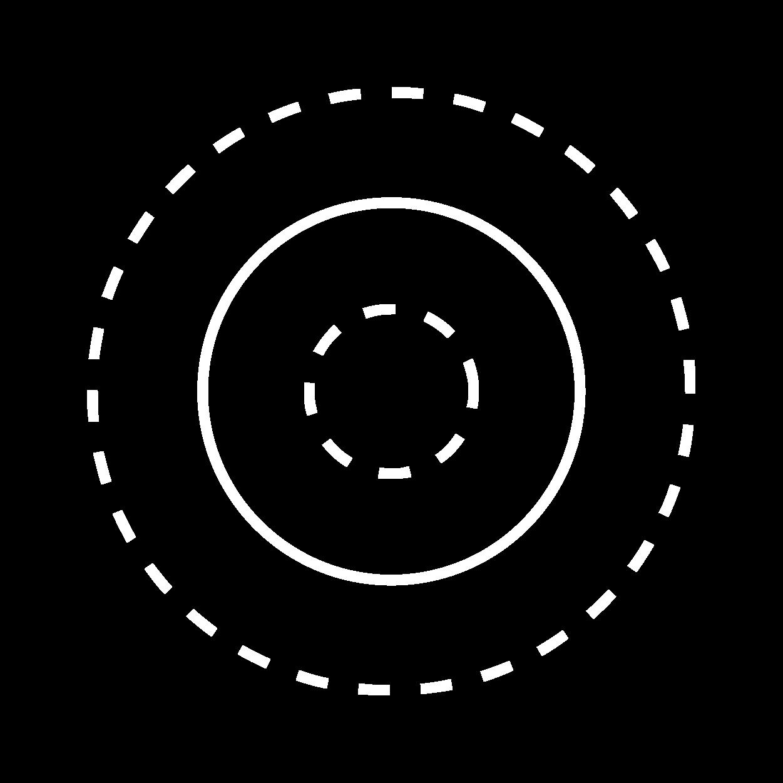 Icon konzentrische Kreise