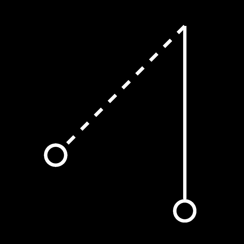Icon Pendel anstoßen
