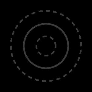 Icon Kreise ziehen