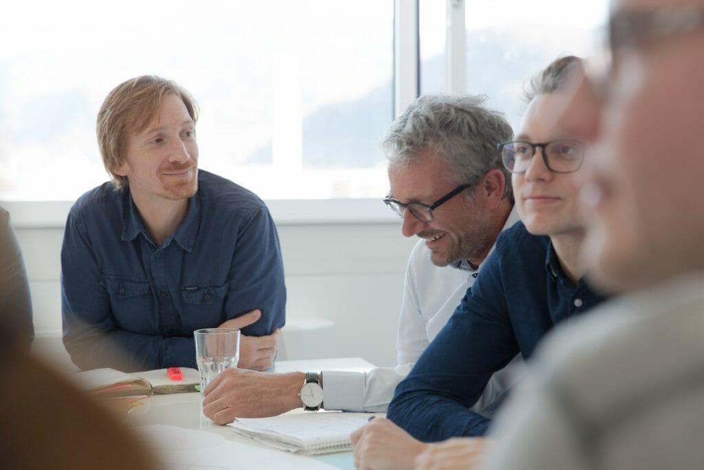 Alex Godschachner, Stefan Krampe und Gernot Pucher
