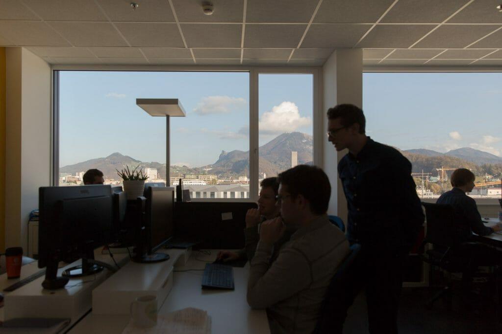 Gaisberg Aussicht Büro.