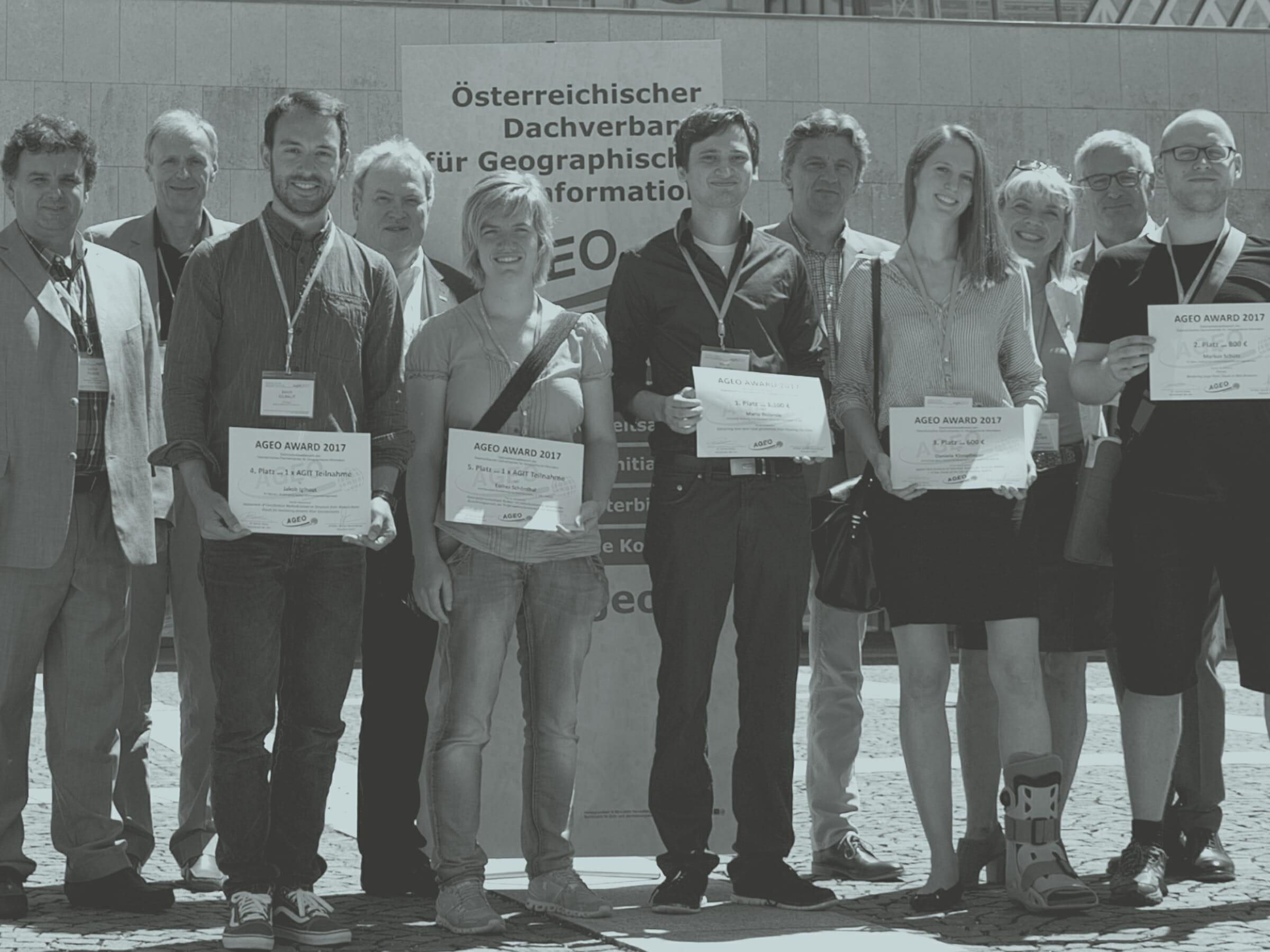 Preisverleihung des AGEO Awards