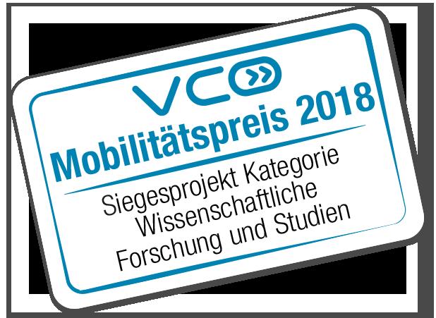 VCÖ Mobilitätspreis 2018