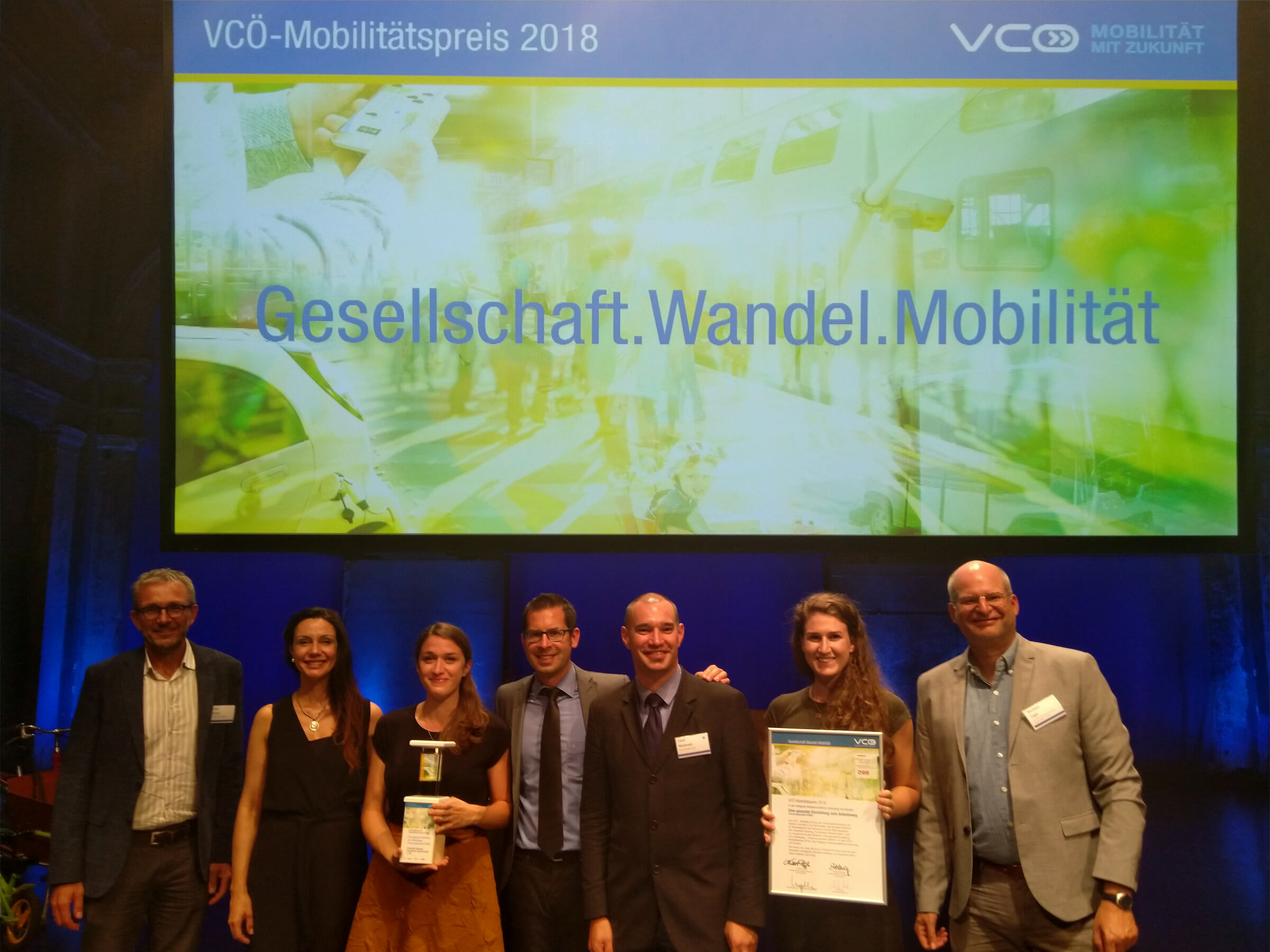Preisverleihung des VCOÖ 2018, Gismo Konsortium