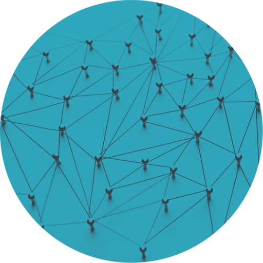 Vernetzung von Diensten Symbolbild