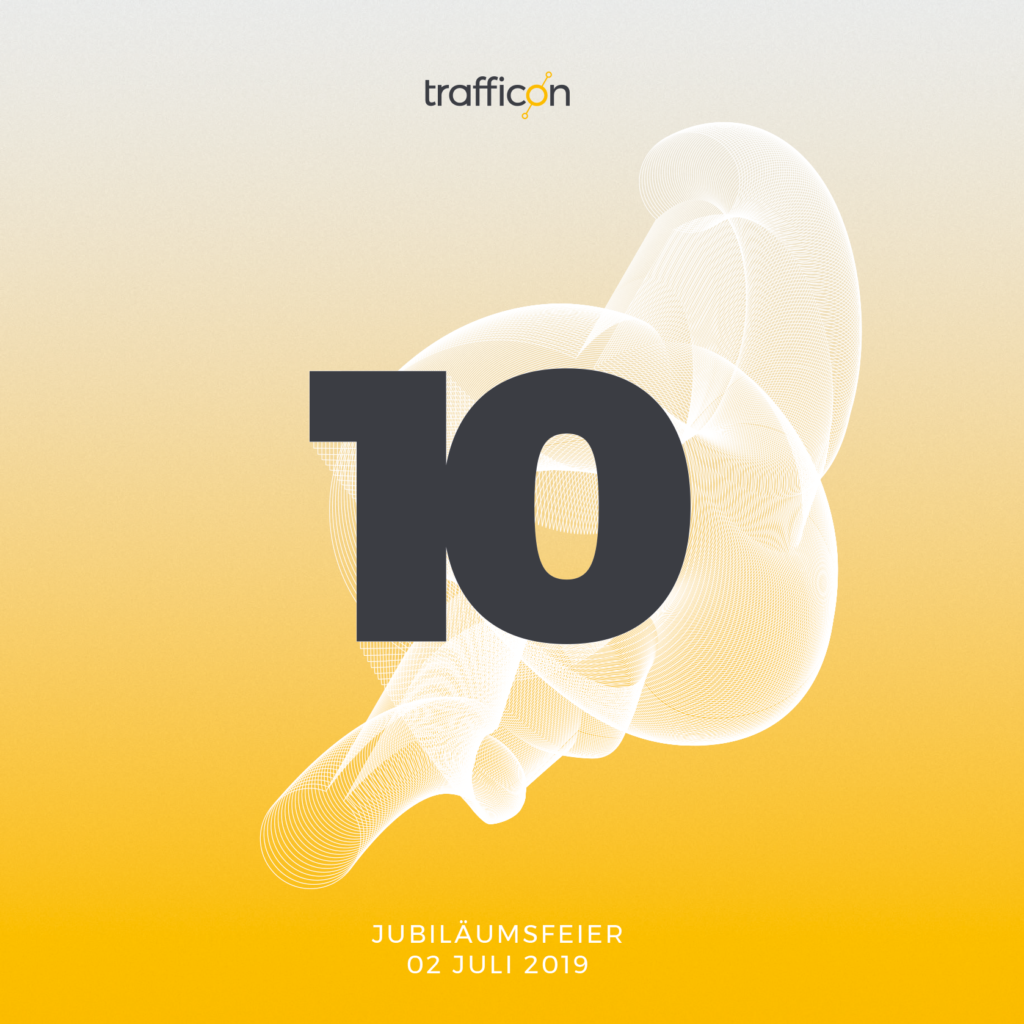 Titelbild Trafficon 10 Jahre Jubiläumsfeier