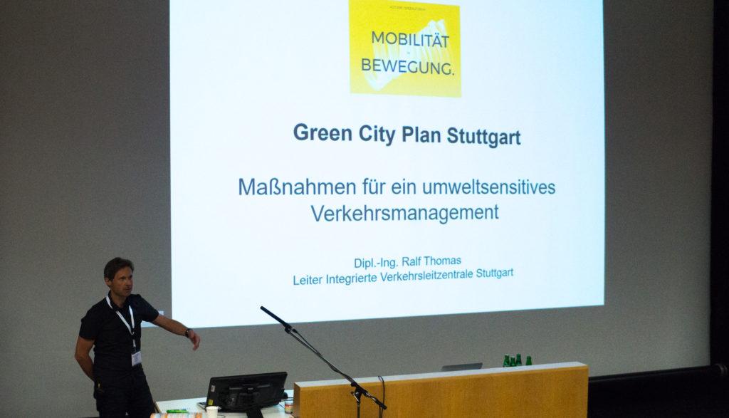 Green City Plan Stuttgart - Vortrag von Ralf Thomas