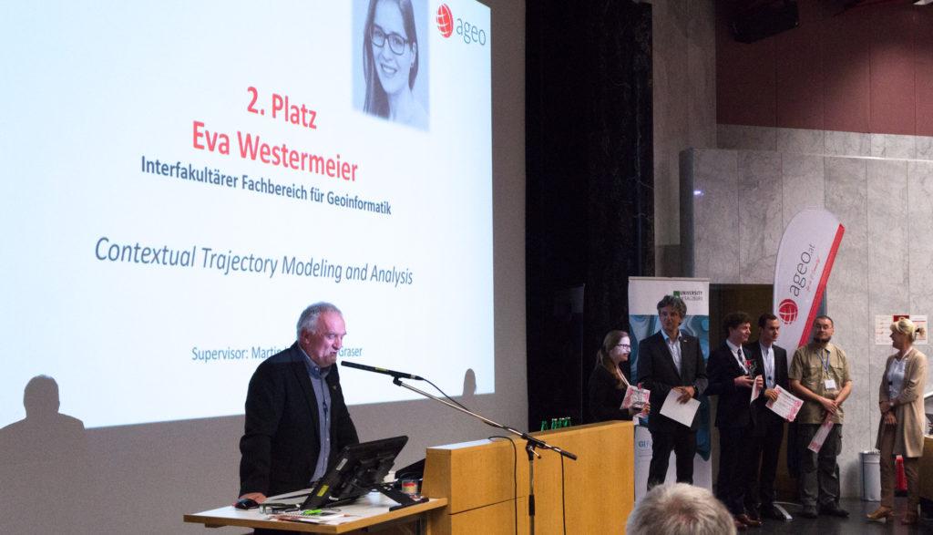 Meister Eva macht den zweiten Platz beim AGEO Award!