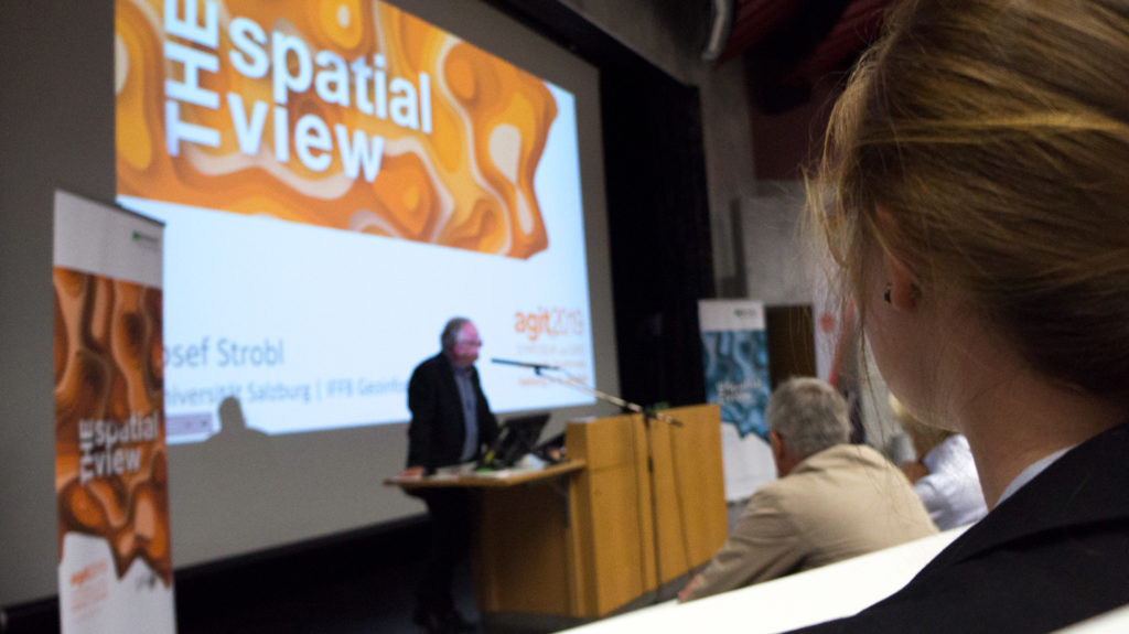 The spatial view: Eva Westermeier auf der Eröffnungsveranstaltung