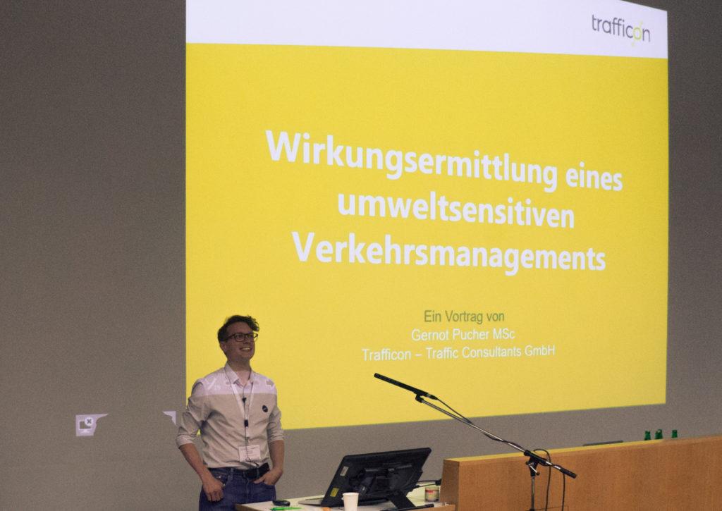 Wirkungsermittlung eines umweltsensitiven Verkehrsmanagements: Vortrag von Genrot Pucher