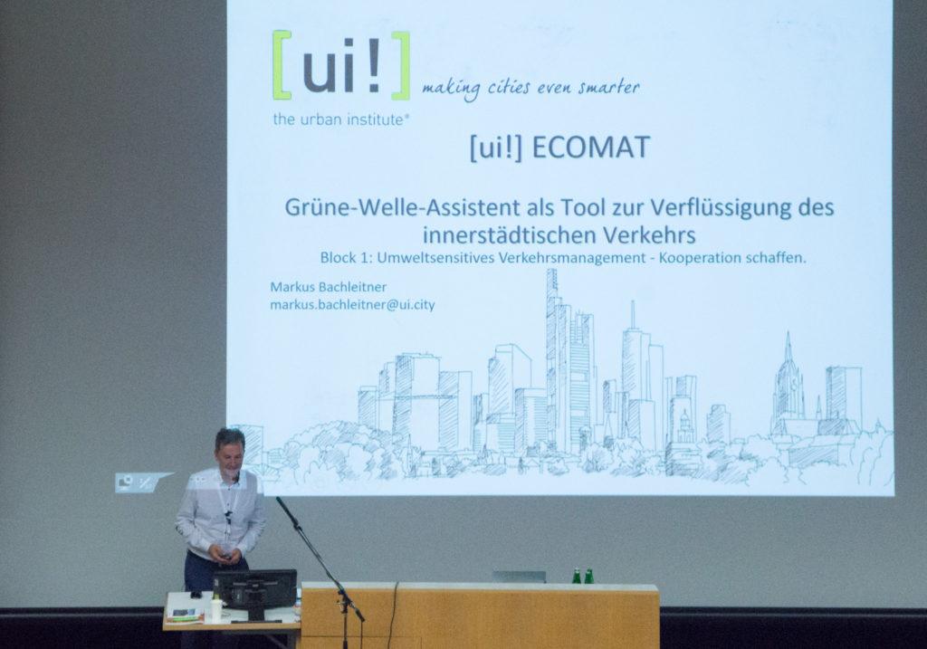 Grüne-Welle-Assistenz als Tool zur Verflüssigung des innerstädtischen Verkehrs: Markus Bachleitner