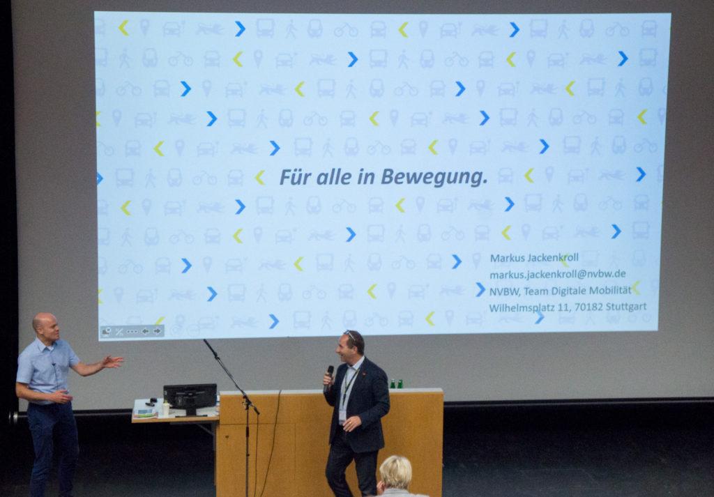 Markus Jackenkroll: Mobilitätsinformation und Verkehrssteuerung in Baden-Württemberg