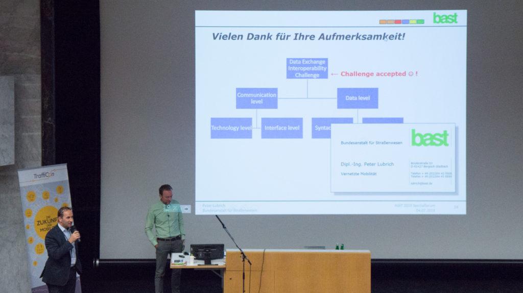 Vortrag: Der MDM und andere nationale Zugangspunkte für Verkehrsdaten in Europa