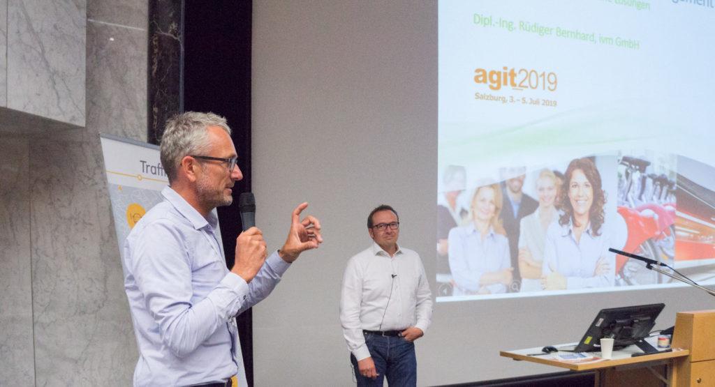 Betriebliches Mobilitätsmanagement: Vortrag von Rüdiger Bernhard