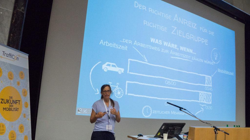 Ansätze zur Förderung aktiver Mobilitätsgewohnheiten, Vortrag von Wiebke Unbehaun