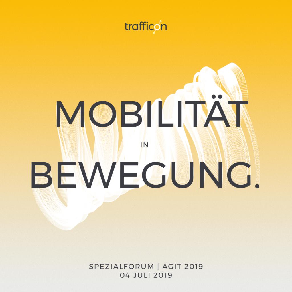 Titelbild: Mobilitäs in Bewegung: AGIT 2019