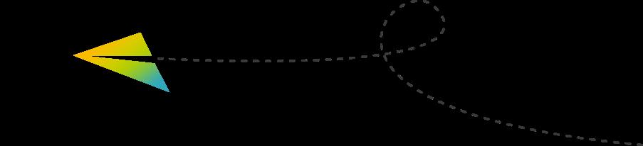 Grafik Papierflieger