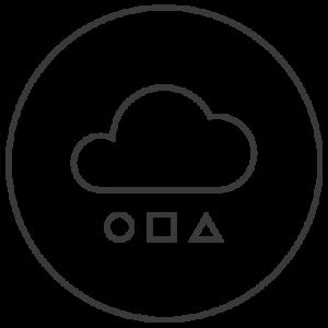 verschiedene daten in cloud