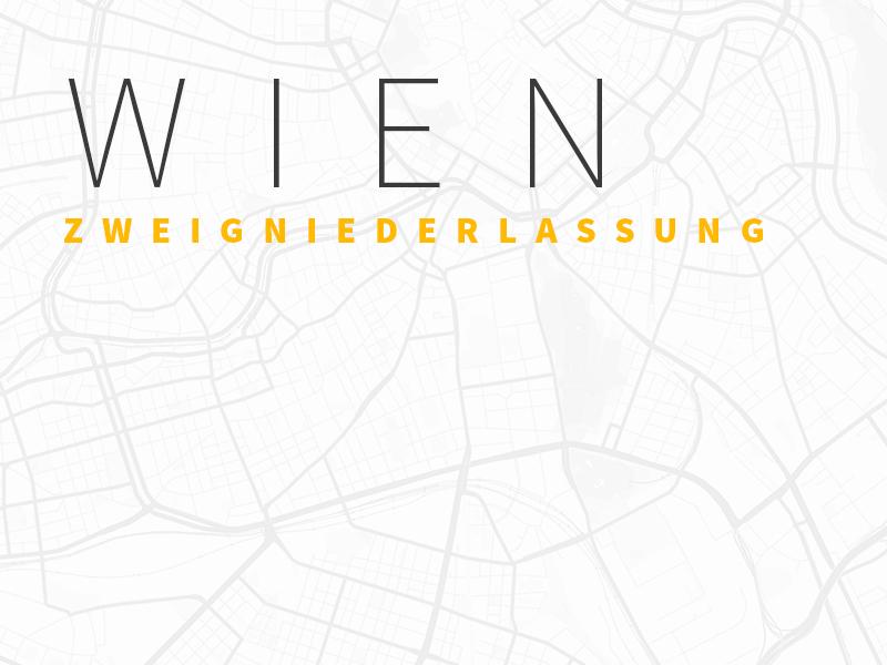 Karte Wien Zweigniederlassung Trafficon
