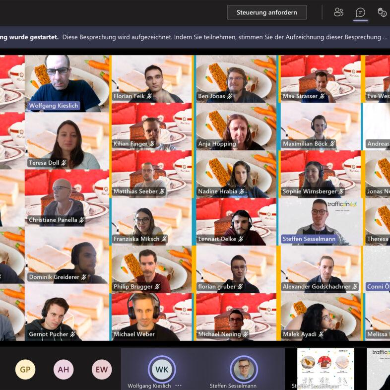 Digitales Teamevent